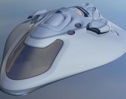 3D Hybrid Glyder Z-25 Spaceship