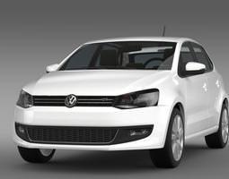 3D model Volkswagen Polo GT 2013