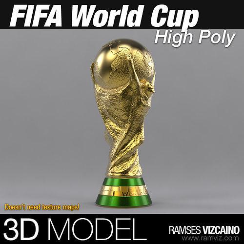 fifa world cup 3d model max obj mtl fbx stl 1