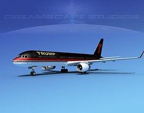 Boeing 757-200 Trump 3D