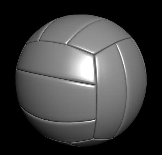 volleyball 3d model obj mtl 1