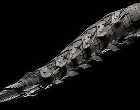 iron tail 3D asset