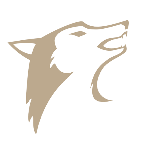 3d model wolf logo cgtrader
