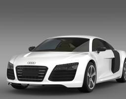 3D model Audi R8 eTron Prototype 2013