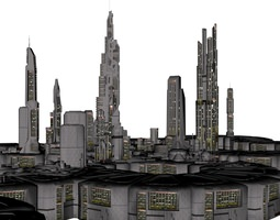 orion colonial city 3d printable model