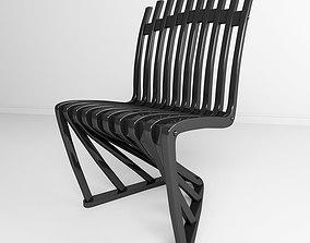 Stripe chair 3D model
