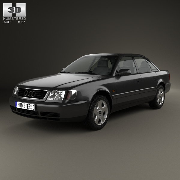 Audi A C Sedan D Model CGTrader - Audi 6 car price