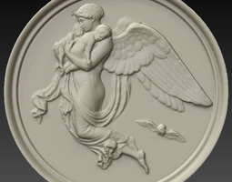 wall plaque night by thorvaldsen 3d printable model