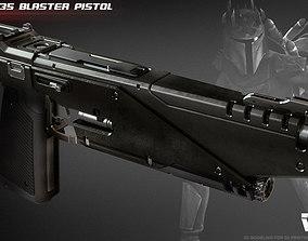 WESTAR 35 blaster pistol 3D print model