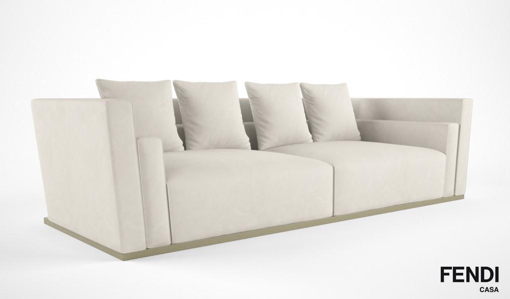 ... fendi casa borromini sofa 3d model max obj fbx 2 ...