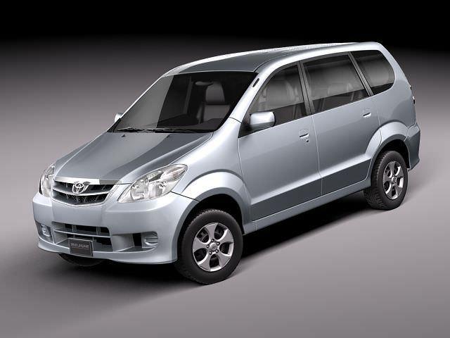 toyota avanza 2005-2010 3d model max 1
