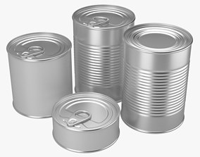 Canned Food 1 3D