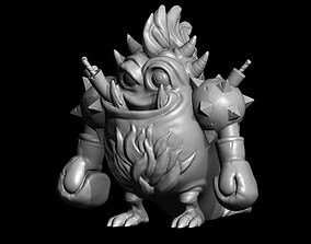3D printable model fireBoom
