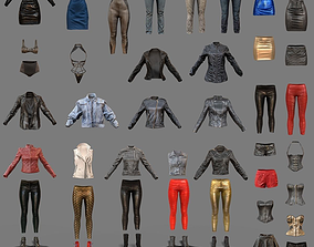 971c9f7d0e0b 3D asset Sexy Clothing Collection 44 Pieces