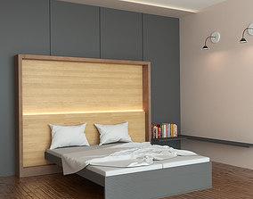 3D model condominium Bed Room