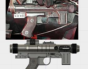 Star Wars SE-14R Blaster 3D print model