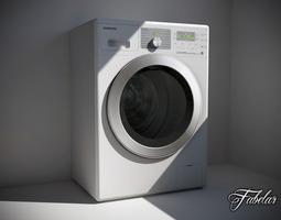 3D model Washing machine 02