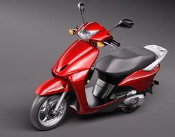 Honda Elite 2010 3D Model