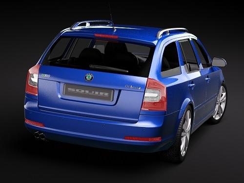 Skoda Octavia RS combi automobile 2010