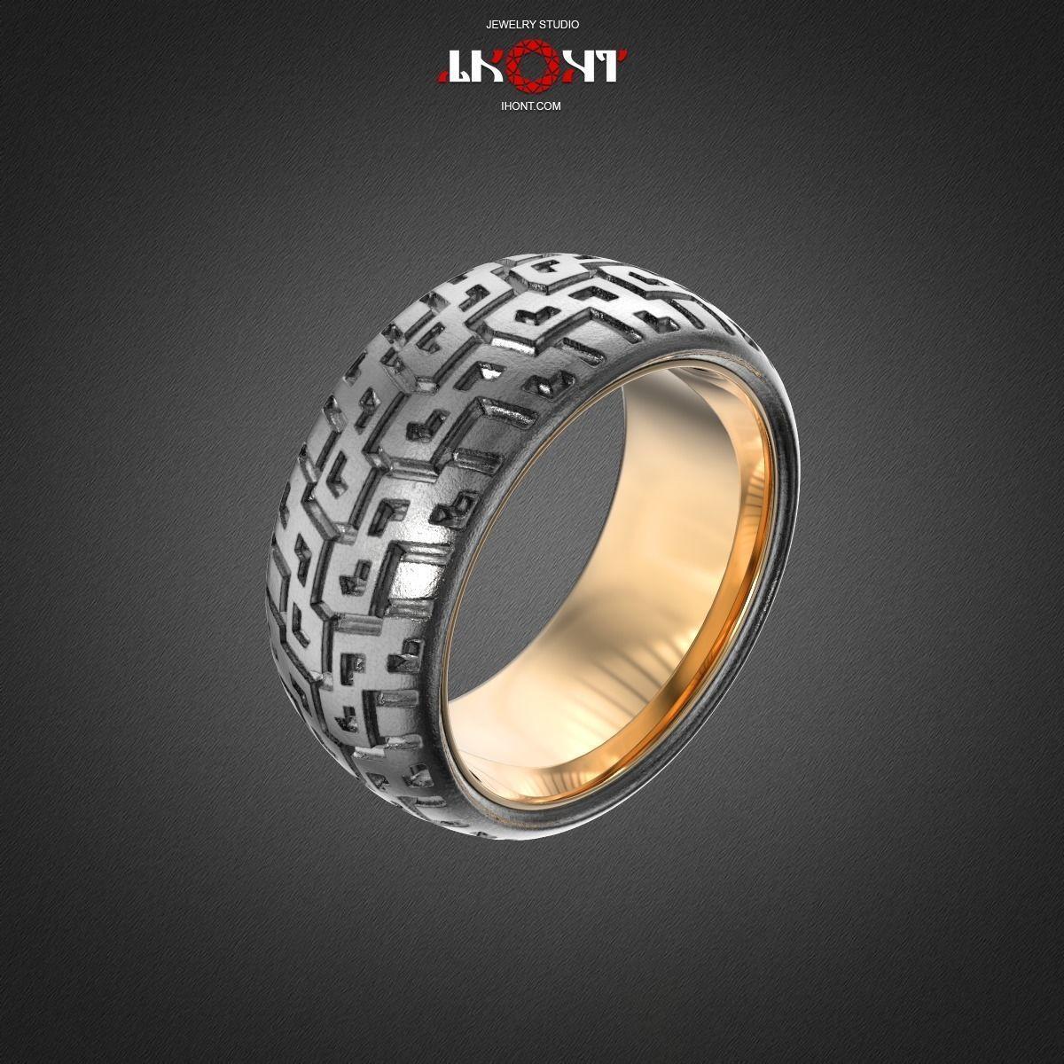 SHINOMONTAGE Ring RG0019