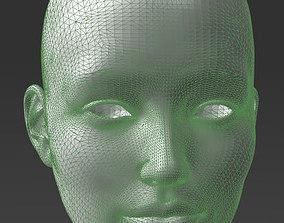 3D print model Solid female head 2