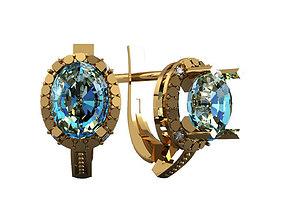 3D model jewelry jewelry Earrings