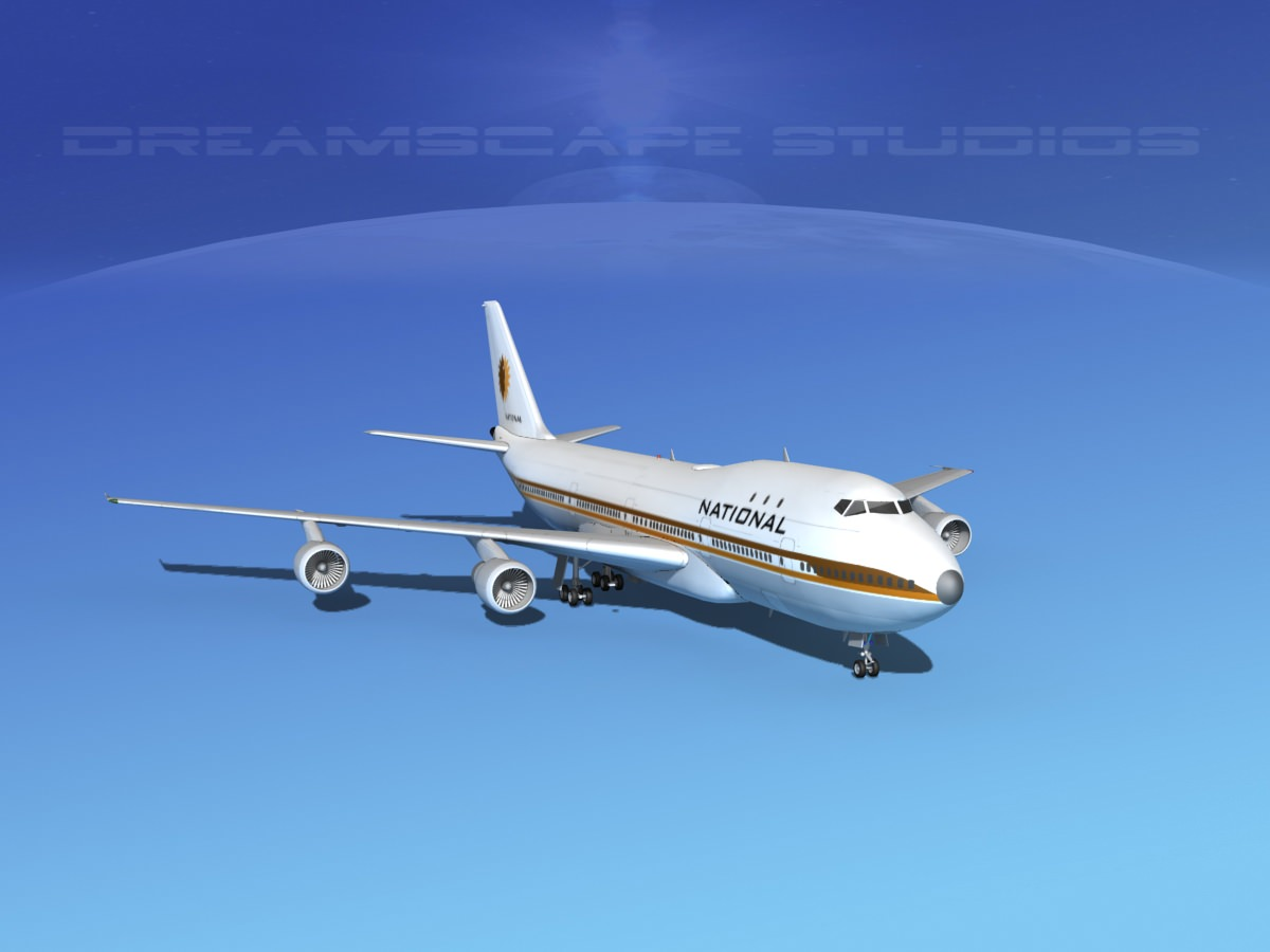 Boeing 747-100 National Airlines