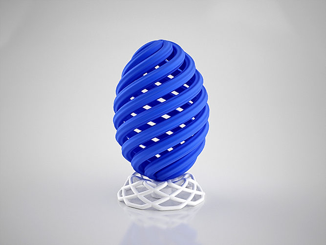 Vortex egg support 3d printable model cgtrader - Where can i buy a 3d printed house ...