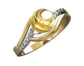 Ring 3D model jewelry fashion jewelry