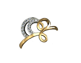 3D model prototyping fashion Ring