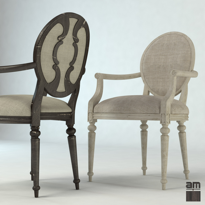 Louis Xv Vintage Chair 3d Model Max Obj Fbx Cgtrader Com
