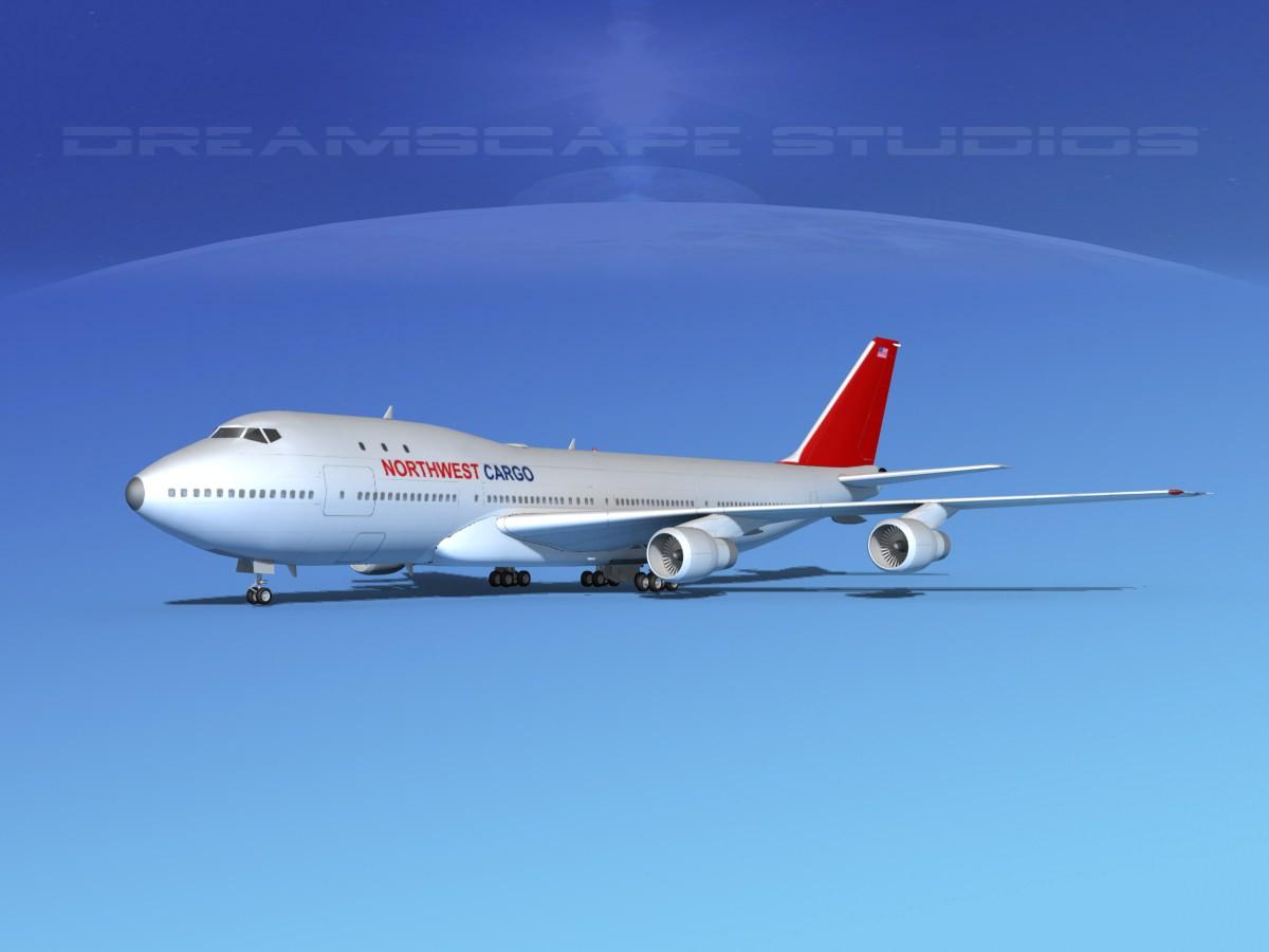 Boeing 747-100 Northwest Cargo