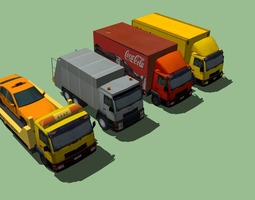 Ultimate Truck Pack Collection 3D