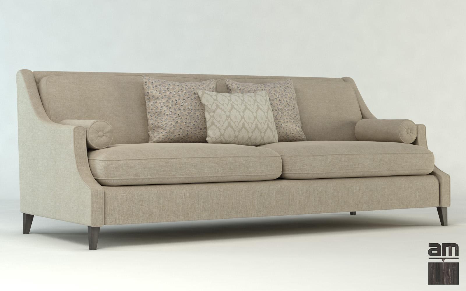 Modern sofa dubai 3d model max obj mtl fbx 1
