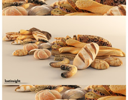 3D model Bread Cravings