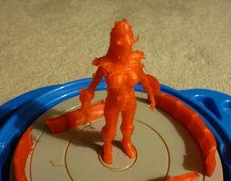 3D model AAA Saint Seiya Girl 2