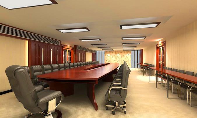 aristocratic seminar hall 3d model max 1