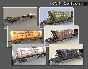 3D model Train Collection 1