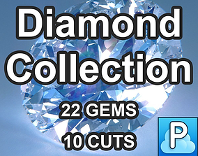 3D model Diamond Cuts Collection