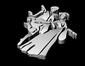 Caucasian Necklace 3D print model