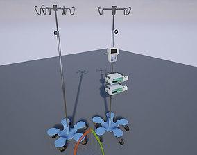 3D asset IV Stands