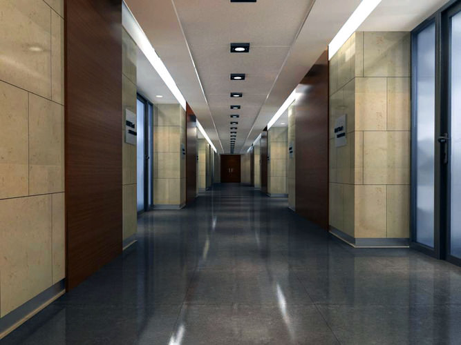 state-of-the-art corridor 3d model max 1