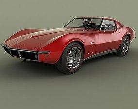 Chevrolet Corvette C3 Coupe 1969 3D model