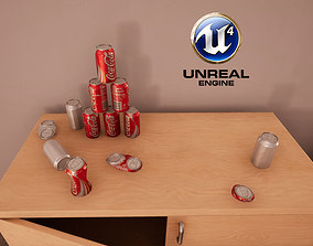 3D asset Drinks Can Pack - 33cl - Unbranded Ready to 1