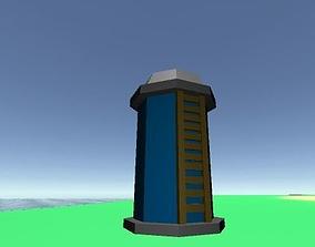 Archer Tower 3D asset