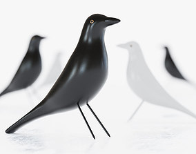 Eames House Bird Figurine 3D