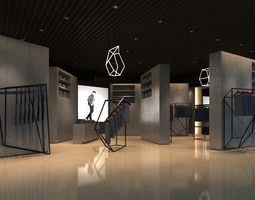 3D clothing stores