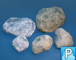 Stones 3D asset