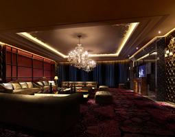 3D model Classy KTV Lounge