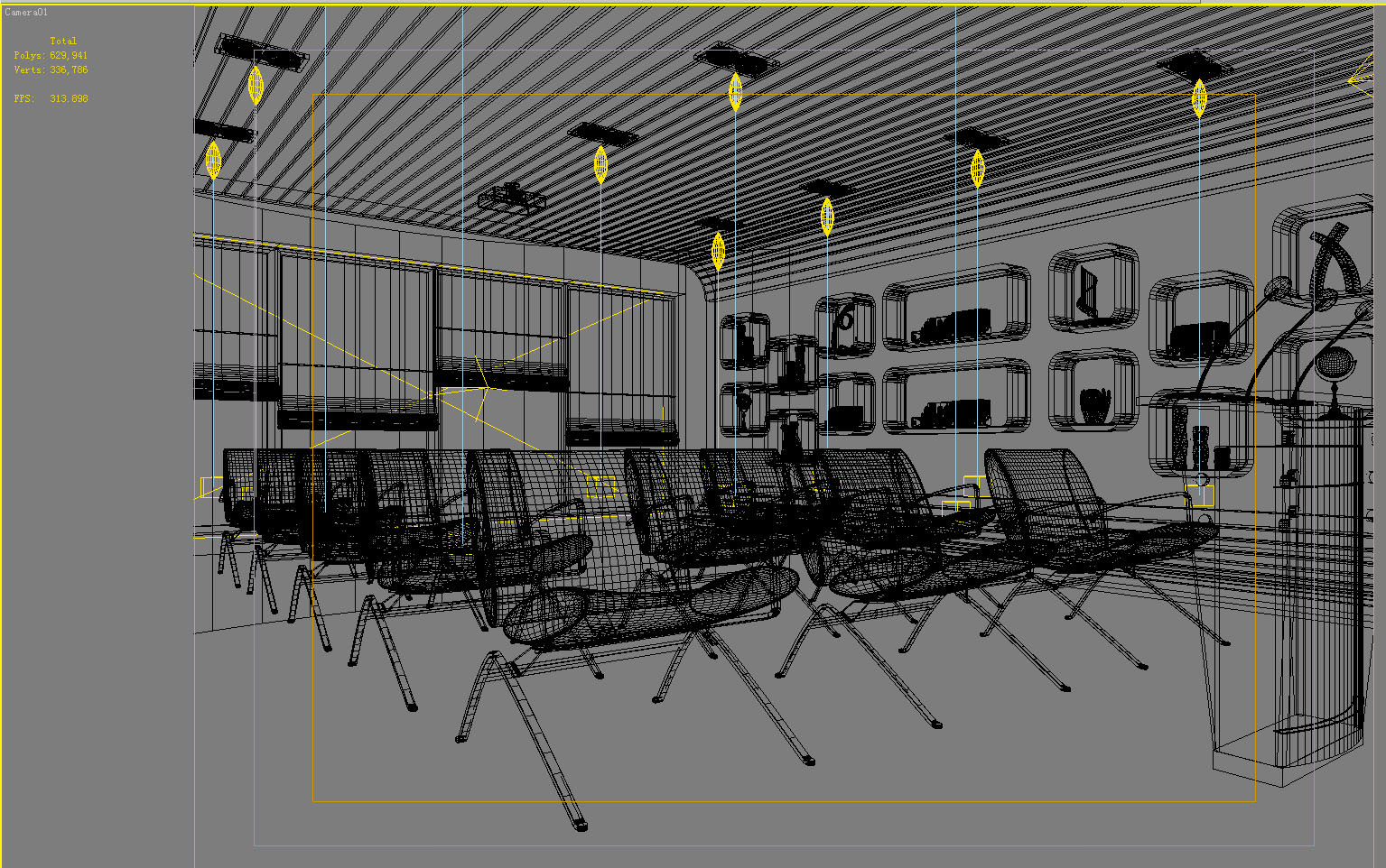 classy chair logo design.  spacious conference room with classy chairs 3d model max 2 Spacious Conference Room Classy Chairs 3D MAX
